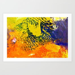 Great Barrier Art Print