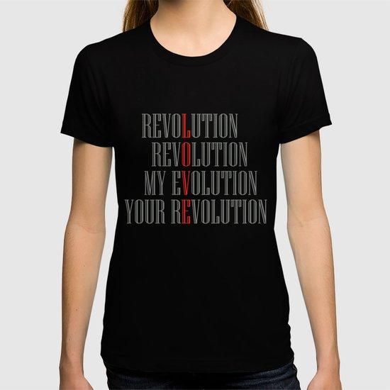 My Evolution, Your Revolution by lulla
