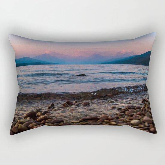 Lake At Dusk Rectangular Pillow