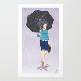 My Rainy Days ( alternate colors ) Art Print