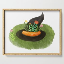 Witch Hat Serving Tray