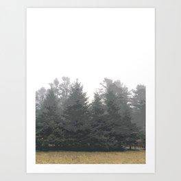 December Fog Art Print