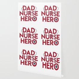 Dad Nurse Hero With Stethoscope 1 Wallpaper