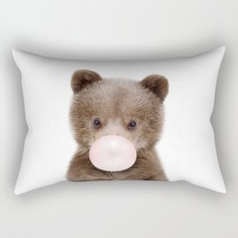 Bubble Gum Bear Cub Rectangular Pillow