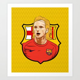Ivan Rakitic Art Print
