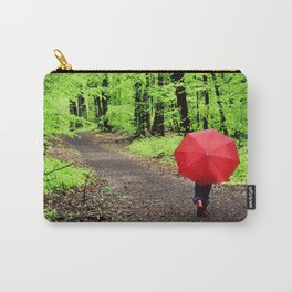 rainy woods Carry-All Pouch