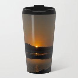 Orange Sun Travel Mug