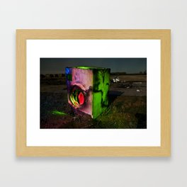 Wash the Night Framed Art Print