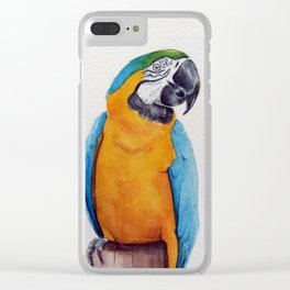 Macaw II Clear iPhone Case