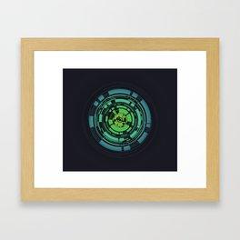 Circles II Framed Art Print