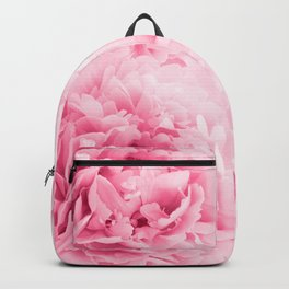 Light Red Peonies Dream #1 #floral #decor #art #society6 Backpack