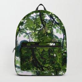 Greenery and leaf VIII Backpack