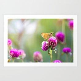Butterfly Buttons Art Print