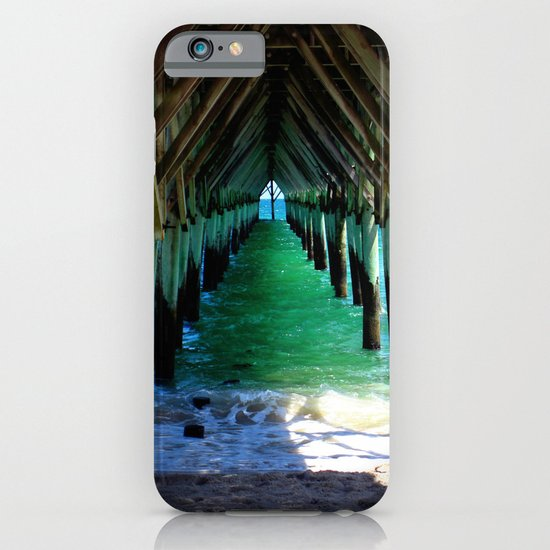 Peaceful Under the Pier iPhone & iPod Case