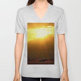 B2 Sunset Unisex V-Neck