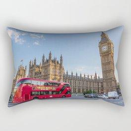London Icons Rectangular Pillow
