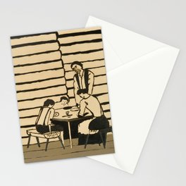 Family Supper by Horace Pippin, 1946 Stationery Cards