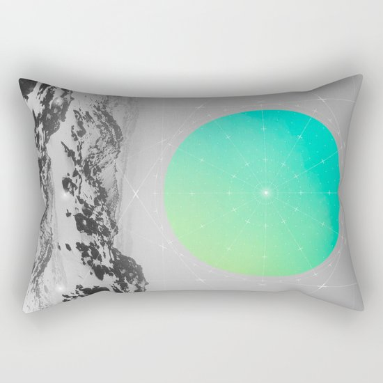 Middle Of Nowhere II Rectangular Pillow
