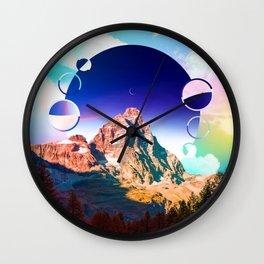 Revolving Creation Wall Clock