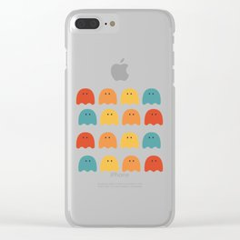 Ghostly SquadGoals Clear iPhone Case
