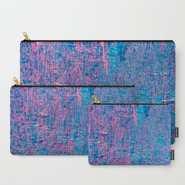 Blue grunge texture background Carry-All Pouch