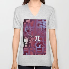 Apple Pie - Free Hugs and Kisses Unisex V-Neck