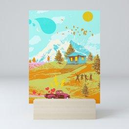 BETTER LAND Mini Art Print
