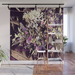 Pink and Purple for Valentines Day Wall Mural