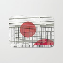 SunSet Abstract Bath Mat