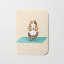 Yoguineas - Tree Pose Bath Mat