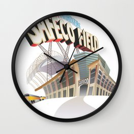 Safeco Field Wall Clock