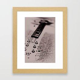 Blurred Rhythm Framed Art Print