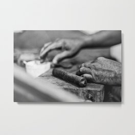 The Dip Metal Print