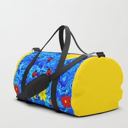 Blue Sky Summers Day Duffle Bag