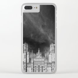Wells Cathedral Clear iPhone Case