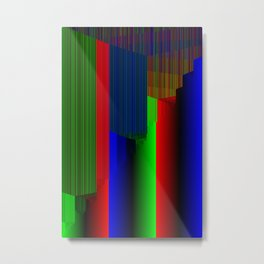 R Experiment 3 (quicksort v1) Metal Print