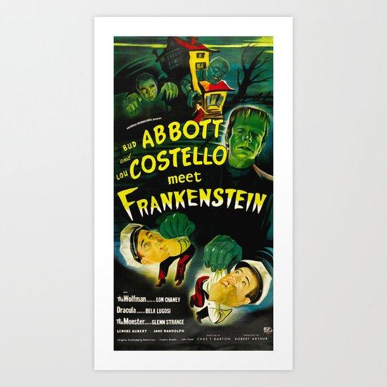 Meet the Monsters  Art Print
