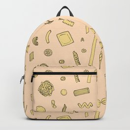Pasta pattern Backpack