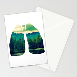 Lung Forest Fresh Stationery Cards