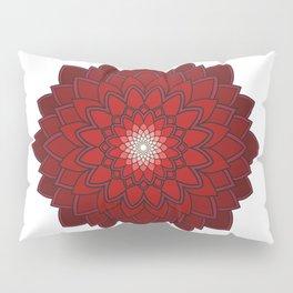 Ornamental round flower decorative element Pillow Sham