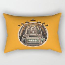 Robots Unite! crest variant Rectangular Pillow
