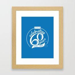 Lechelt's 60th Anniversary Framed Art Print