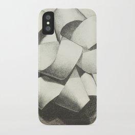 Ribbon - Graphite Illustration iPhone Case