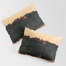 Summer sunset over the lake | Landscape photography Pillow Sham