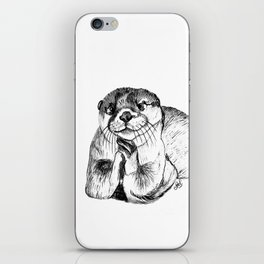 Otterly adorable iPhone Skin