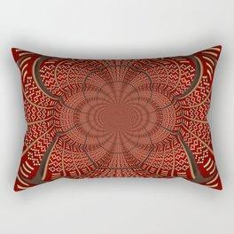Woven Indian Design Mandala Rectangular Pillow