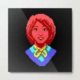 Meet Nancy Maple - The Crimson Diamond Metal Print