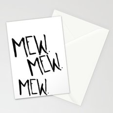 Mew. Stationery Cards