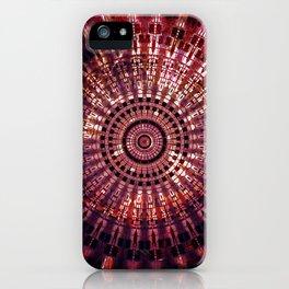 Vintage Abstract Mandala iPhone Case