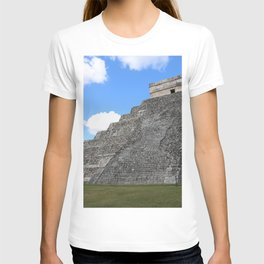 Chichen Itza Temple of Kukulcan south-west View T-shirt